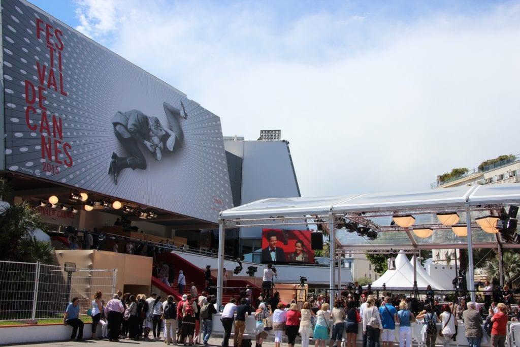 Entrance of the International Cannes Film Festival 2013