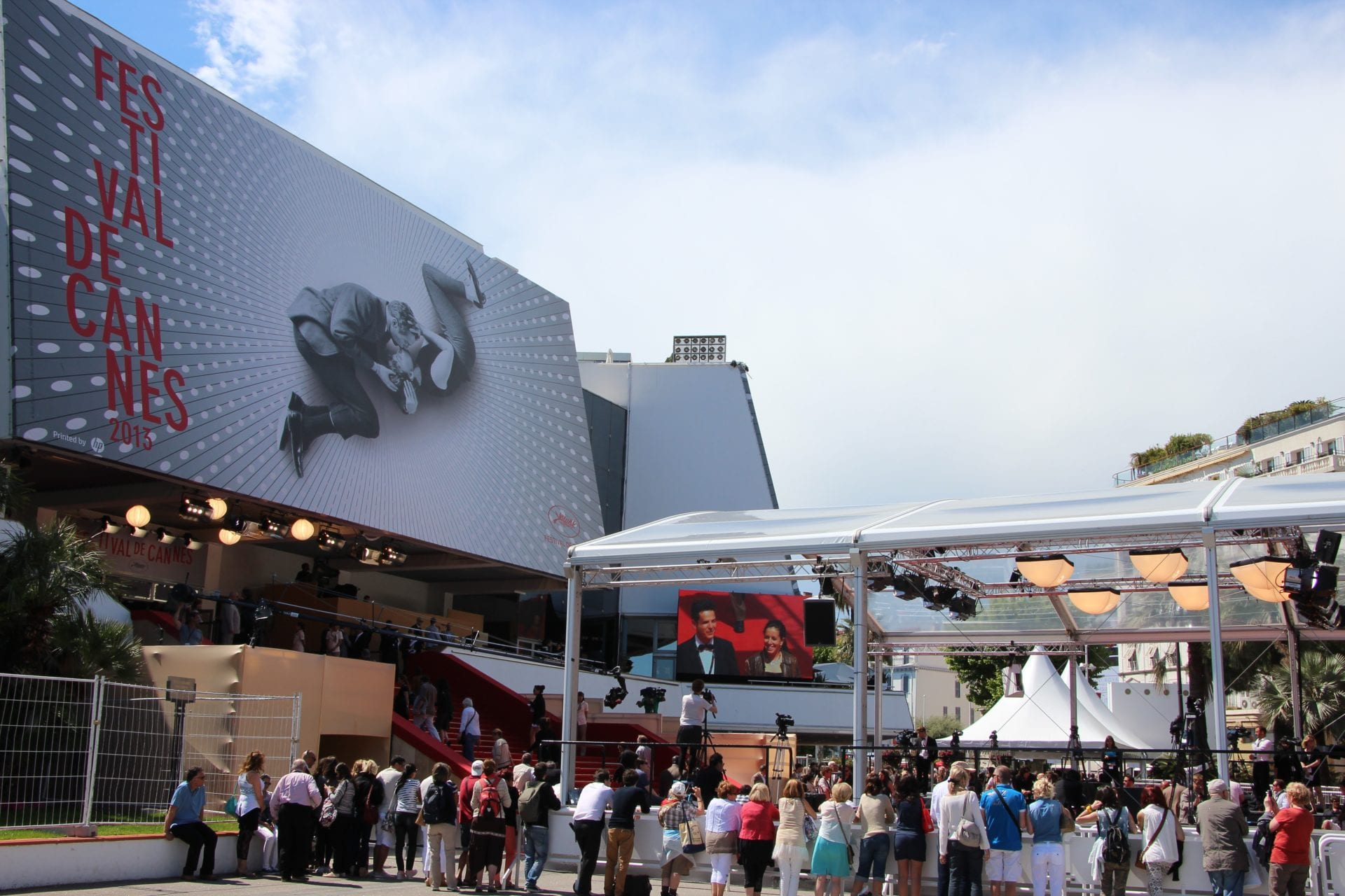 Entrance of the International Cannes Film Festival 2013