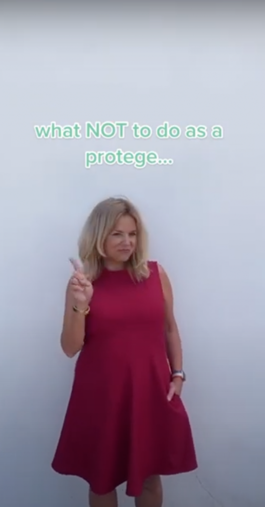 What not To Do As A Protégé